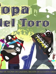 """""""Topa del Toro"""" en  Tecpan de Galeana"""