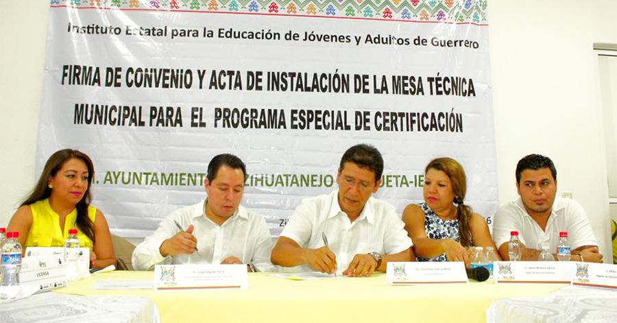 Instituto estatal de educacion para adultos for Convenio ingenierias y oficinas tecnicas 2016