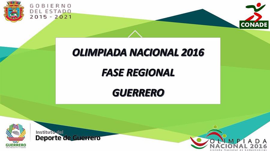 olimpiada-nacional-fase-regional-acapulco