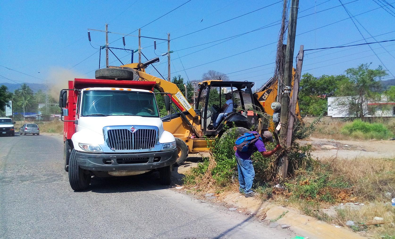 Limpieza Obras Públicas
