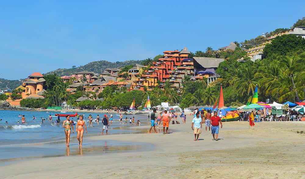 Resultado de imagen para fotos turismo en playas de ixtapa