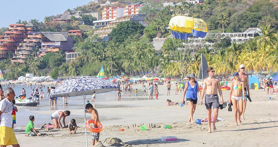 El turismo extranjero representa el 60% de la ocupación hotelera actual en Ixtapa y Zihuatanejo
