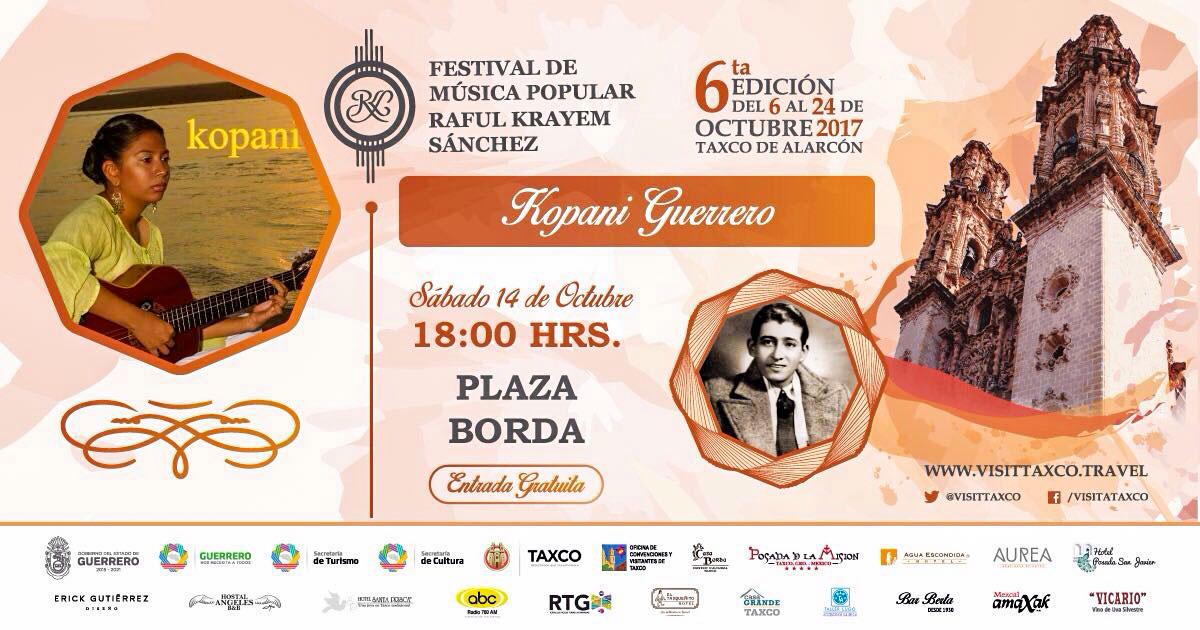 FESTIVAL MUSICA RAFUl krayem taxco
