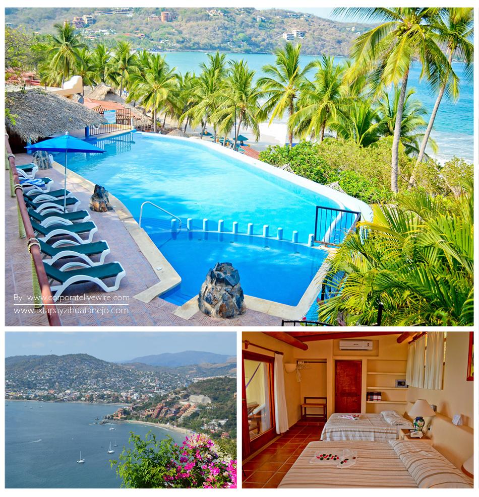 Hotel Catalina Beach Resort De Zihuatanejo Premiado En Luxury Travel